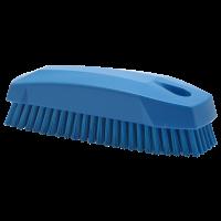 Vikan Hygiene 6440-3 nagelborstel blauw harde vezels 130mm