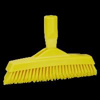 Vikan Hygiene 7040-6 voegenborstel steelmodel extra hard geel 225mm