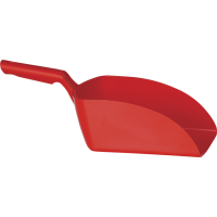 Vikan Hygiene 5670-4 handschep rood recht groot 2L 16x37x13cm