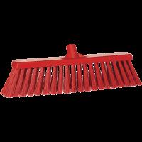 Vikan Hygiene 2920-4 bezem 47cm rood harde vezels 530mm
