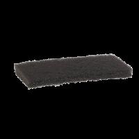Vikan Hygiene 5523 nylon schuurspons hard bruin 125x245x23mm