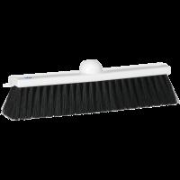 Vikan Classic 3150 veger 28cm zacht zwart vezelmengsel wit kunststof
