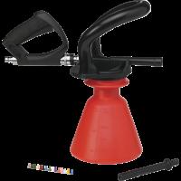 Vikan 93014 Ergo Foam Sprayer 25 liter rood set incl. pistool en afspuitla