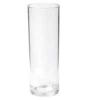 Glas longdrinkglas onbreekbaar PETG durable (500x) 310ml 158mm transparant 1x60 st