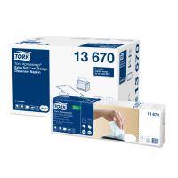Tork Xpressnap® Extra Zacht Dispenserservet Bladdesign Wit