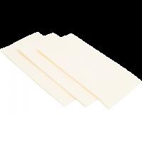 Servet Cellulose 3-laags 40x40cm wit 4x250st