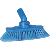 Vikan Hygiene 7067-3 wandborstel blauw zachte splitvezels verstelbaar 240mm
