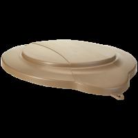 Vikan Hygiene 5687-66 emmerdeksel bruin voor 12 liter emmer 5686
