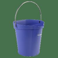 Vikan Hygiene 5688-8 emmer 6 liter paars maatverdeling en schenktuit