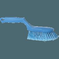 Vikan Hygiene 4167-3 ergo handborstel blauw zachte splitvezels 330mm