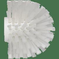 Vikan Hygiene 7035-5 wormhuisborstelkop wit medium vezels ø135x130mm