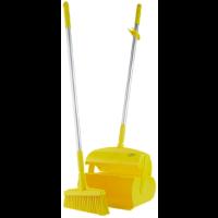 Vikan Hygiene 56616 veger-blikset lange steel geel 320x1170mm