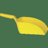 Vikan Hygiene 5670-6 handschep geel recht groot 2L 16x37x13cm