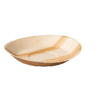 Depa Biodore bord, rond, palmblad (100 stuks)