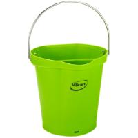 Vikan Hygiene 5688-77 emmer 6 liter limoen maatverdeling en schenktuit