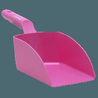 Vikan Hygiene 5675-1 handschep roze recht medium 1L 34x12x11cm