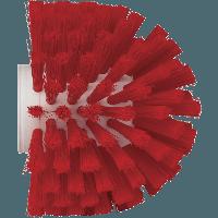 Vikan Hygiene 7035-4 wormhuisborstelkop rood medium vezels ø135x130mm