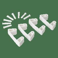 Vikan Hygiene 1019-5 Aanvulset klemmen witfull colour 4 klemmen/8 pinnen