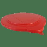 Vikan Hygiene 5689-4 emmerdeksel rood voor 6 liter emmer 5688
