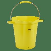 Vikan Hygiene 5692-6 emmer 20 liter geel maatverdeling schenktuit