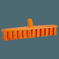 Vikan UST 3173-7 vloerveger 40cm oranje medium vezels 50x400mm