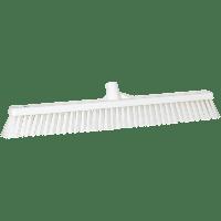 Vikan Hygiene 3194-5 combiveger wit hard/zachte vezels 610mm