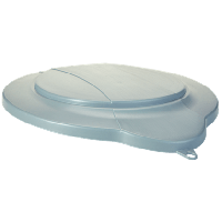 Vikan Hygiene 5687-88 emmerdeksel grijs voor 12 liter emmer 5686