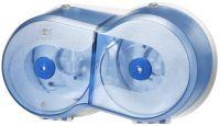 Tork SmartOne Mini Twin Toiletpapier Dispenser Blauw T9