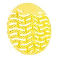 Urinoir matjes Lemon/Geel Met anti-spat haartjes - 10 st.