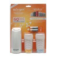 Euro Oxy-Gen starterspakket dispenserwit Incl. 2 x refill 2 x batt.aa p/blister