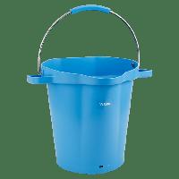 Vikan Hygiene 5692-3 emmer 20 liter blauw maatverdeling schenktuit