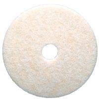 "3M Scotch Brite pads - polyester, wit, 17"" / 43 cm"