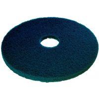 "3M Scotch Brite pads - polyester, blauw, 15"" / 38 cm 5 st."