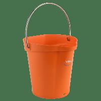 Vikan Hygiene 5688-7 emmer 6 liter oranje maatverdeling en schenktuit