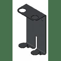 Black double metal holder for 400 ml bottle 10 stuks