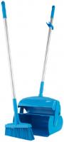 Vikan Hygiene 56613 veger-blikset lange steel blauw 320x1170mm