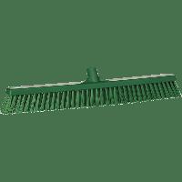 Vikan Hygiene 3194-2 combiveger groen hard/zachte vezels 610mm