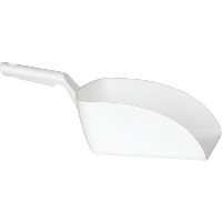Vikan Hygiene 5670-5 handschep wit recht groot 2L 16x37x13cm