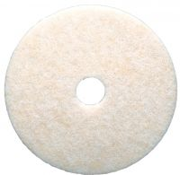 "3M Scotch Brite pads - polyester, wit, 17"" / 43 cm"