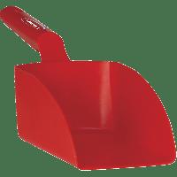 Vikan Hygiene 5675-4 handschep rood recht medium 1L 34x12x11cm