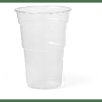 Glas bierglas splintervrij PP 600ml 138mm transparant 20x65 st