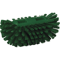 Vikan Hygiene 7037-2 tankborstel groen harde vezels 130x205mm