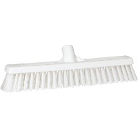 Vikan Hygiene 3174-5 combiveger wit hard/zachte vezels 410mm