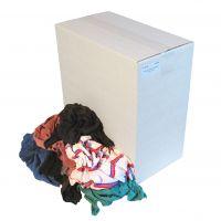 Bonte tricot lappen origineel Doos a 10 kg