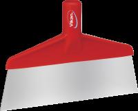 Vikan Hygiene 2910-4 vloerschraper rood rvs blad 260mm breed