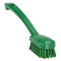 Vikan 3088-2 universele afwasborstel groen medium vezels 260mm