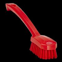 Vikan 3088-4 universele afwasborstel rood medium vezels 260mm