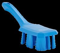 Vikan UST 4179-3 afwasborstel blauw harde vezels korte steel 70x260mm
