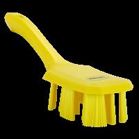 Vikan UST 4179-6 afwasborstel geel harde vezels korte steel 70x260mm
