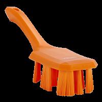 Vikan UST 4179-7 afwasborstel oranje harde vezels korte steel 70x260mm